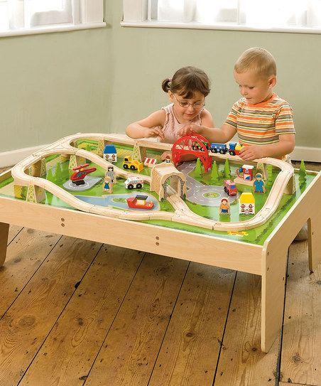 Toys Train Set & Table