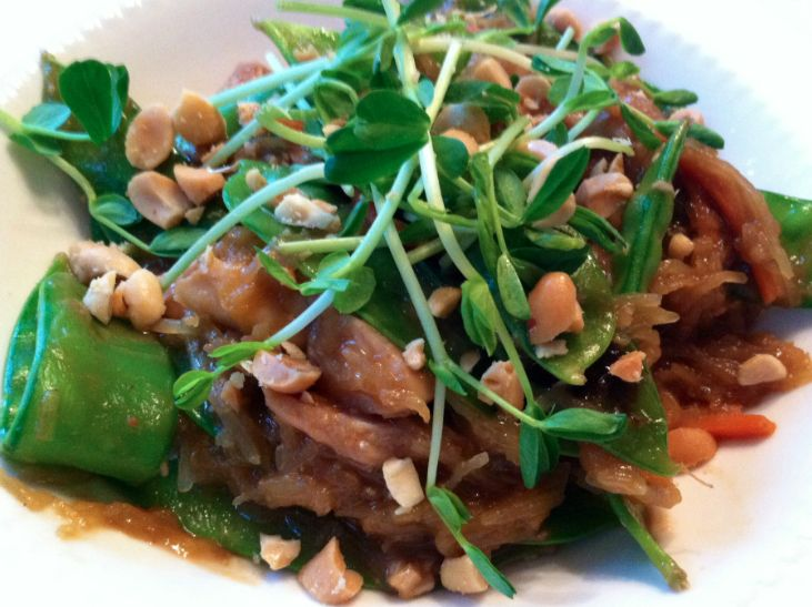 Better than Take Out, Pad Thai - skip the take out menu and make a healthy meal tonight! #CleanEating #SkinnyMs
