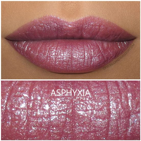 Urban Decay Vice Lipstick in Asphyxia - Review and Swatch (Holiday 2016 Vintage Capsule Collection)