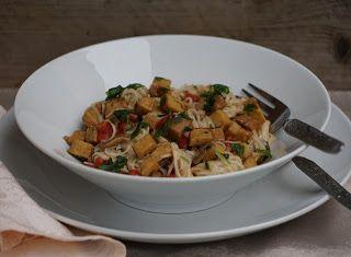 Denny Chef Blog: Spaghetti di riso e quinoa al seitan