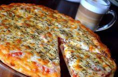 Amikor megkóstoltam ezt a pizzát le is írtam a receptjét, hogy biztosan meglegyen!