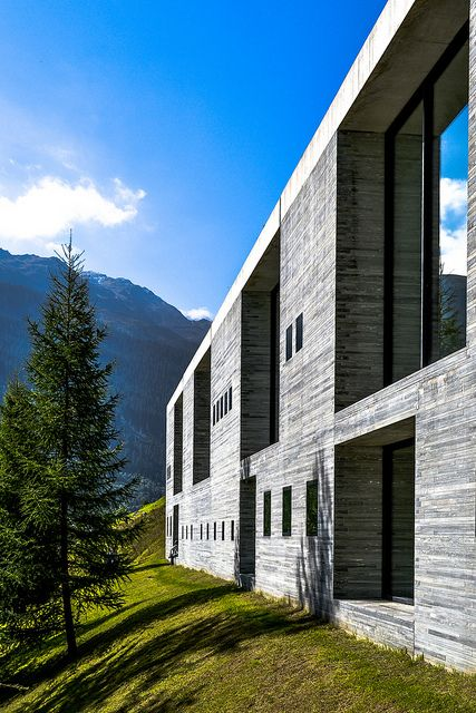 Thermal Baths Vals. 1996. Graubünden, Switzerland. Peter Zumthor