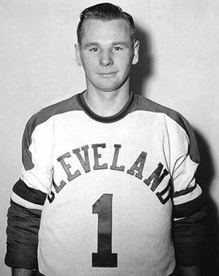Johnny Bower - Cleveland Barons (AHL)