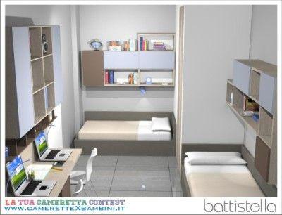 Battistella camerette: progettazione su misura