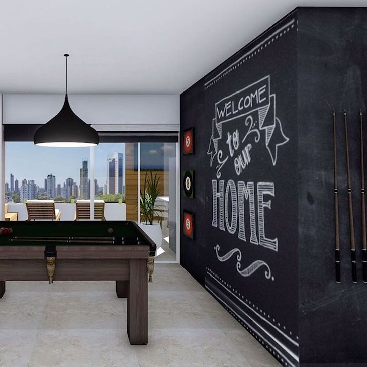 Receber seus convidados e oferecer lazer e entretenimento pode ficar ainda mais fácil com a criação de uma sala de jogos em qualquer espaço da sua casa