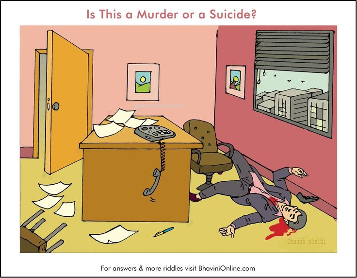 Picture Detective Riddle: Is This a Murder or a Suicide? (III) | BhaviniOnline.com