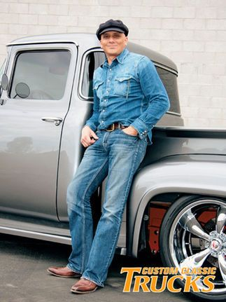 Check out Daniel Attias's clean 1956 Ford F-100 Big Window which sports a 351 Ford small-block and a leather interior. Only at www.customclassictrucks.com, the official site for Custom Classic Trucks Magazine.