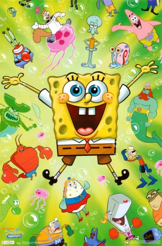 Spongebob Squarepants (some of the older episodes are okay, though)