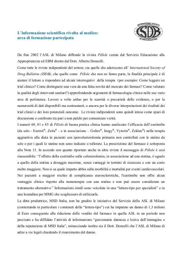 Lo strano caso del dottor Donzelli e del Signor MSD by Salvo Fedele via slideshare