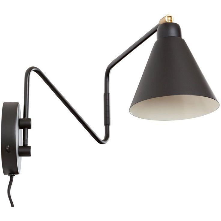 Diedrich 1-Light Swing Arm Lamp