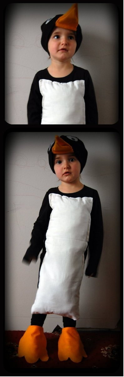 My attempt at a penguin costume for World Book Week