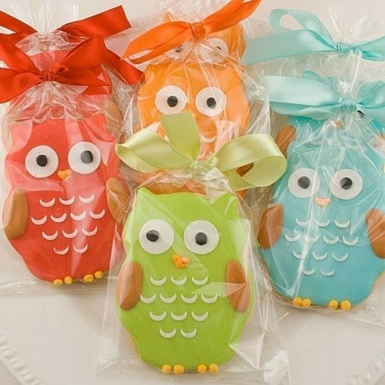 Owl Party Favors by brenda