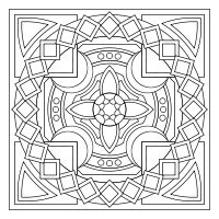 318 best Coloring Mandalas images on Pinterest | Coloring books ...