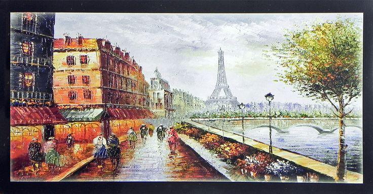Paris Landscape (Reprint on Paper - Unframed)