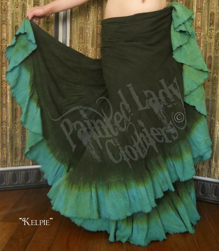 """Kelpie"" 18 Yard Petticoat Skirt  You can get yours here:  http://www.paintedladyemporium.com/Shop-Here.html"