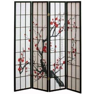 I found '4 panel Cherry Blossom Design Room Divider' on Wish, check it out!