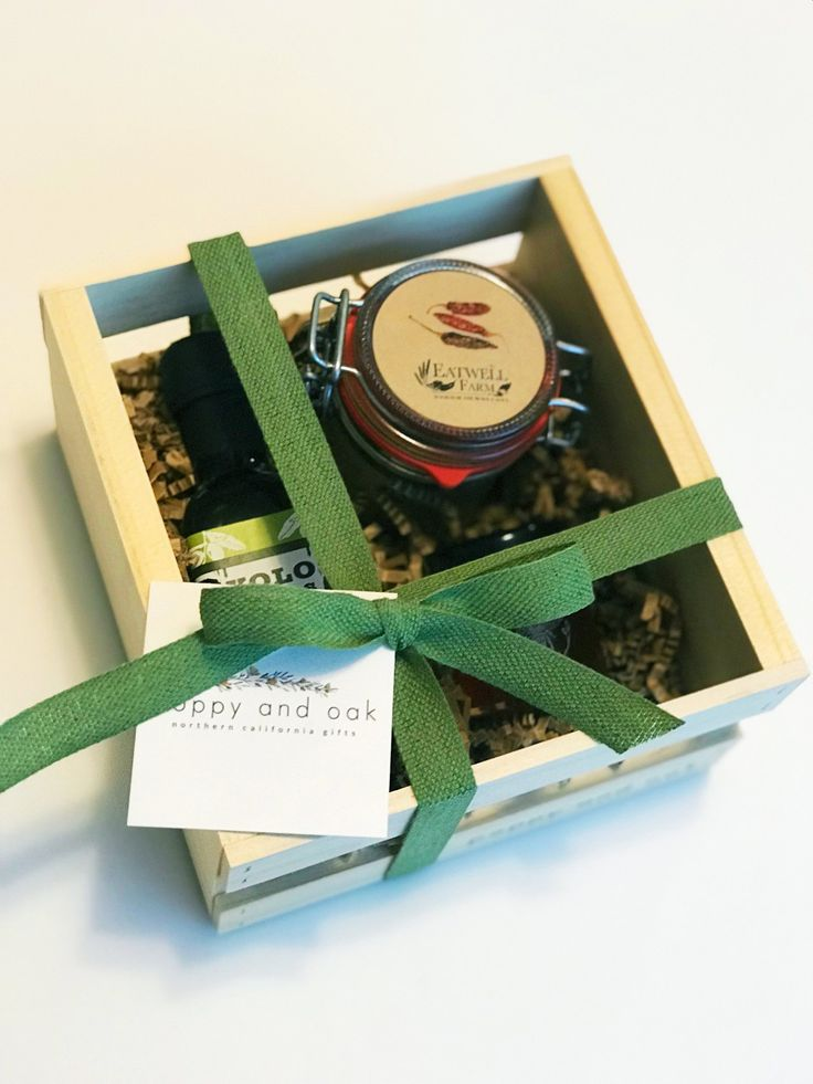 The Taste of Yolo Mini Box – Poppy and Oak Goods. The perfect hostess gift for the holidays! Or a thoughtful housewarming gift. Also makes a sweet teacher or coworker gift if you know they love to cook. Featuring Northern California olive oil, honey and flavored salt.