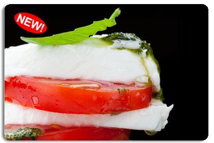 Салат помидоры сыр ветчина грибы