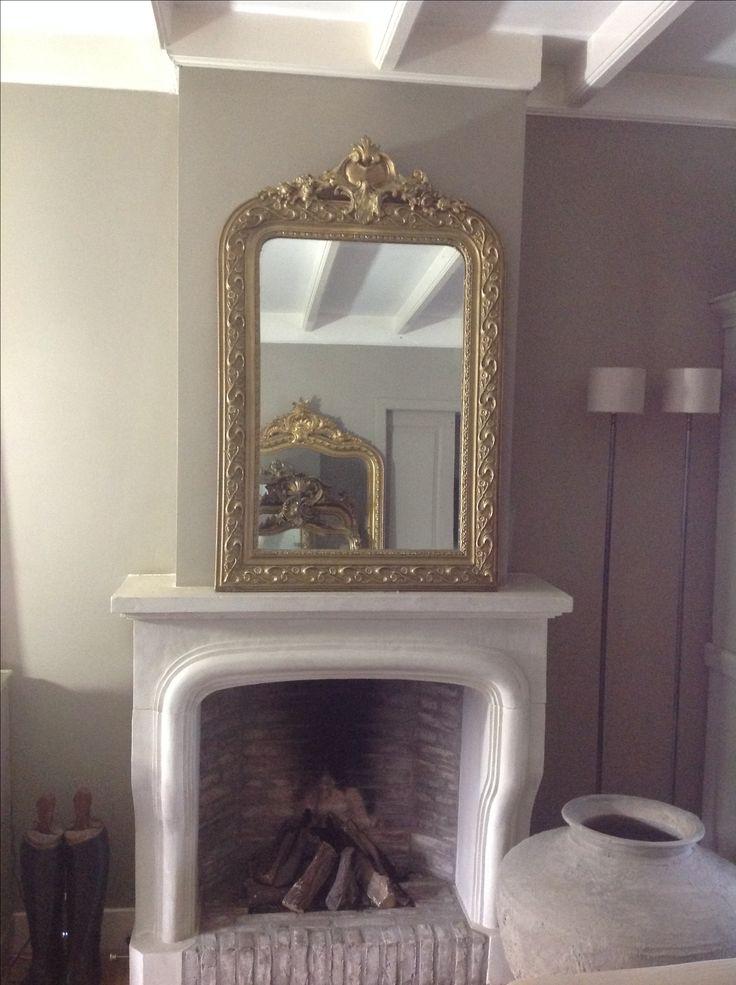 Antieke spiegel The-Robin