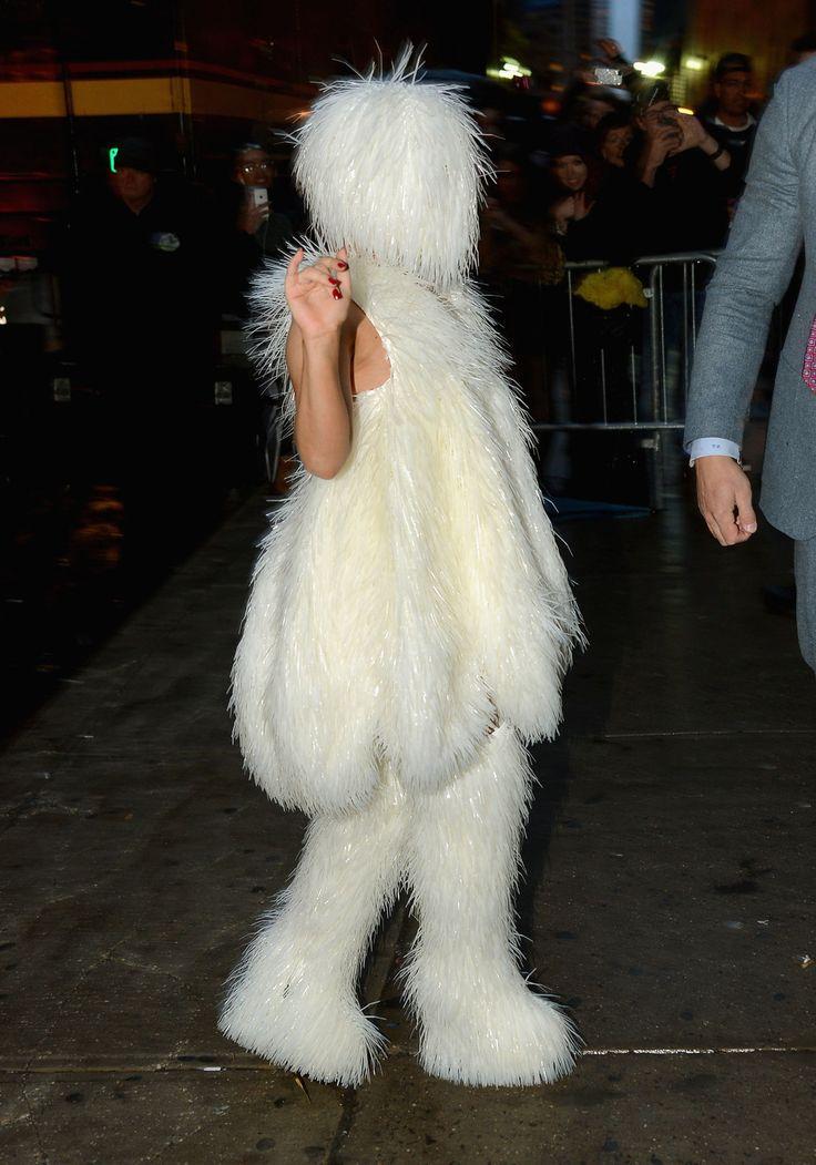 Good luck, Gaga. Photos From The Roseland Ballroom