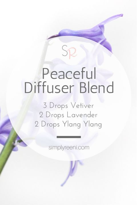 Diffusing essential oils is one of the most popular ways to use them, and it is one way to help receive all the benefits they have to offer. This peaceful essential oil diffuser blend is one I use a lot in the evenings to help my family unwind from the day. It helps to promote calm and relaxation throughout our home✨