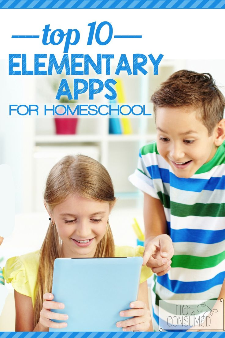 10 Top Elementary Homeschool Apps that we use in our homeschool every day (or nearly every day). Award-winning, kid pleasing, grade boosting....