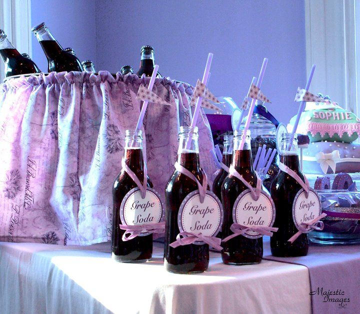 37 best Purple Baby Shower images on Pinterest Girl baby showers