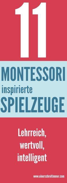 Die Pädagogik von Maria Montessori, in der vor allem die Selbständigkeit des Kindes unterstützt wird, liegt uns am Herzen. Mit diesen Spielsachen wird das Lernen zum Kinderspiel....