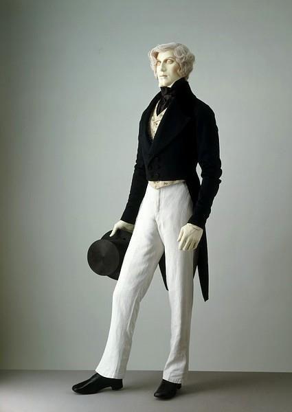 Мужские костюмы 19 века