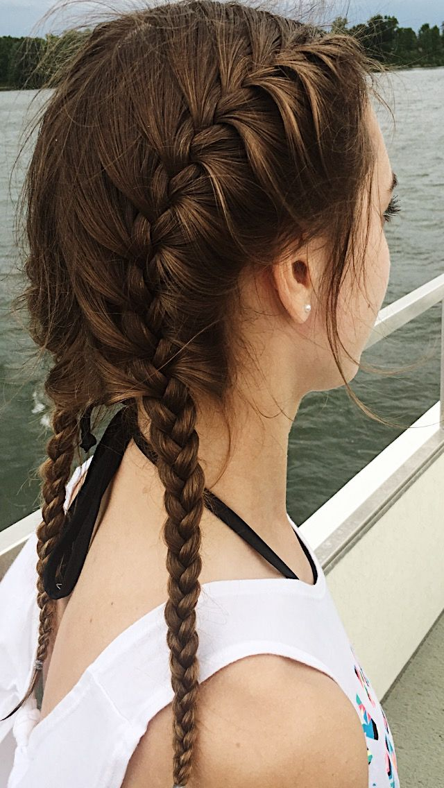 Summer Hair Braid Pictureperfect Lake Boat Swim Beach Braids Beach Braids Cool Braid Hairstyles Braided Hairstyles
