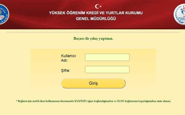 wifi kyk gov tr doğrulama sayfası yenilendi