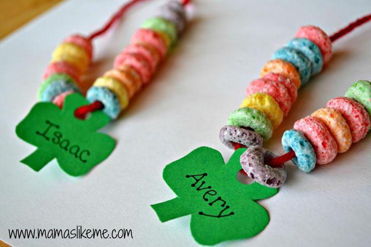 Pattern Shamrock Rainbow Necklaces