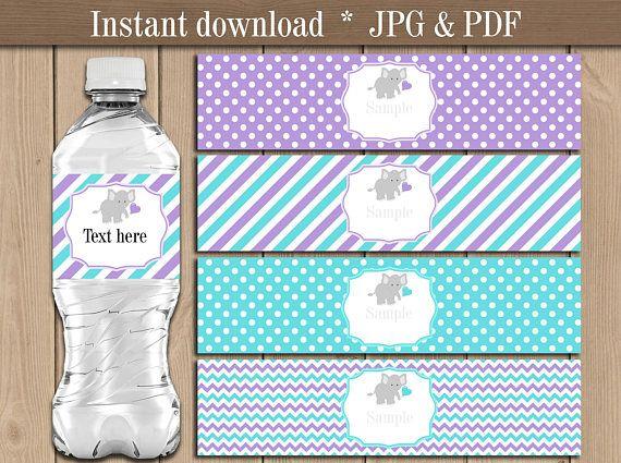 The  Best Water Bottle Labels Ideas On   Water Bottle
