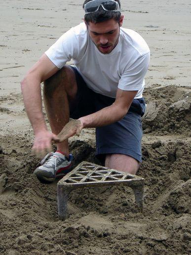 fundición en arena. pewterstoold.jpg