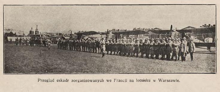 Francuskie Breguety na warszawskim lotnisku