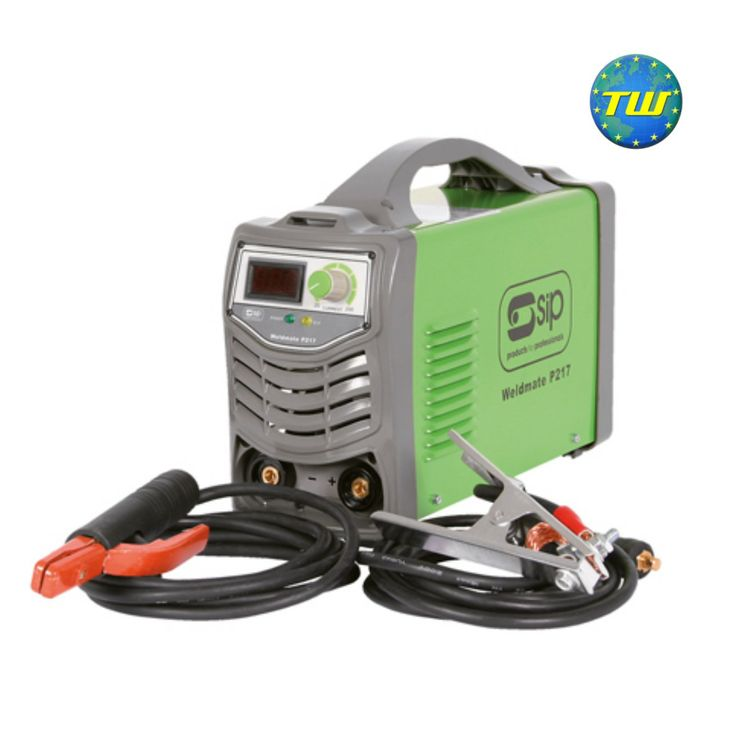 SIP 05250 Weldmate P217 190 Amp Arc Inverter Welder http://www.twwholesale.co.uk/product.php/section/7130/sn/SIP05250
