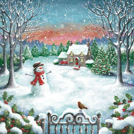 Andrew Smith - SNOWMAN SCENE - ANDREW SMITH