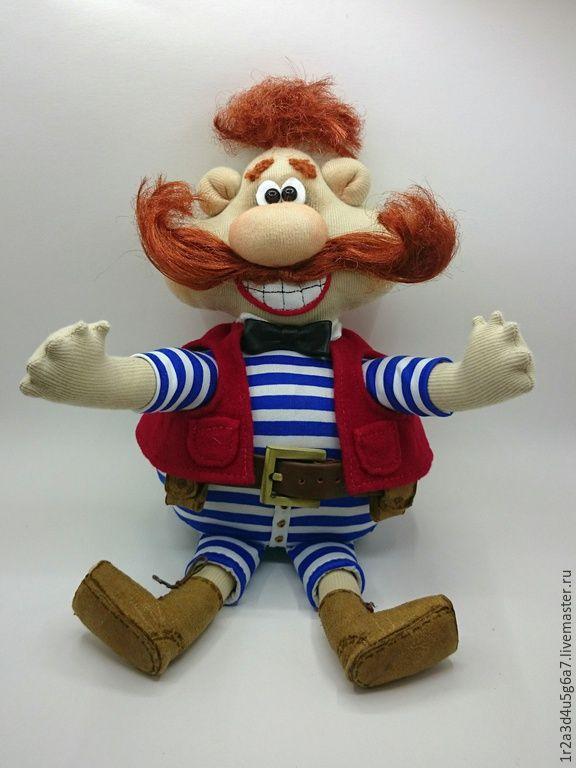 Купить Перчаточная кукла Бармалей - разноцветный, кукла текстильная, перчаточная…