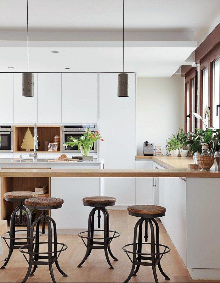 17 mejores ideas sobre isla de cocina estrecha en for Mesa cocina estrecha
