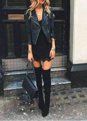 ffe7ec8226 63 Ideas Fashion Edgy Style Leather Jackets  fashion