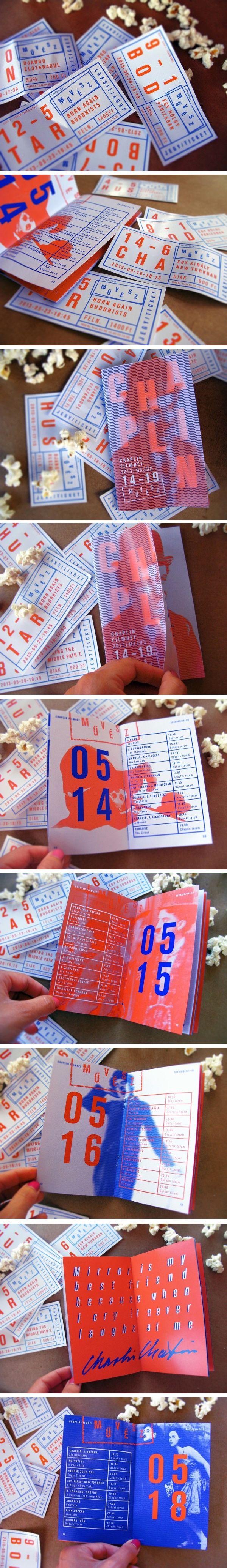 film festival brochure template