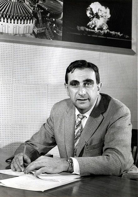 """Edward Teller (1908 - 2003) ♦ Hungarian-born American theoretical physicist who is known colloquially as """"the father of the hydrogen bomb"""", although he claimed he did not care for the title."""