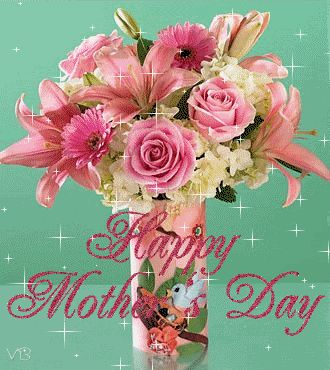 animated happy mothers day | Animated Mothers Day Cards and Flowers | Happy Mother's Day/from a fellow pinner debbie sweet