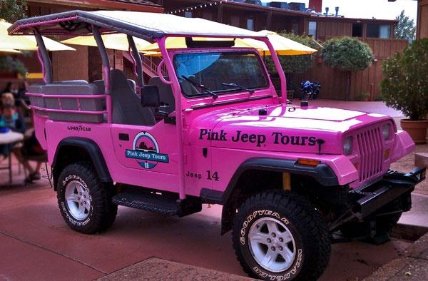 Pink Jeep Tours In Sedona Arizona Wheels Jeep