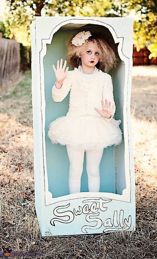 marionette wind up doll costumes - How To Make A Doll Costume For Halloween