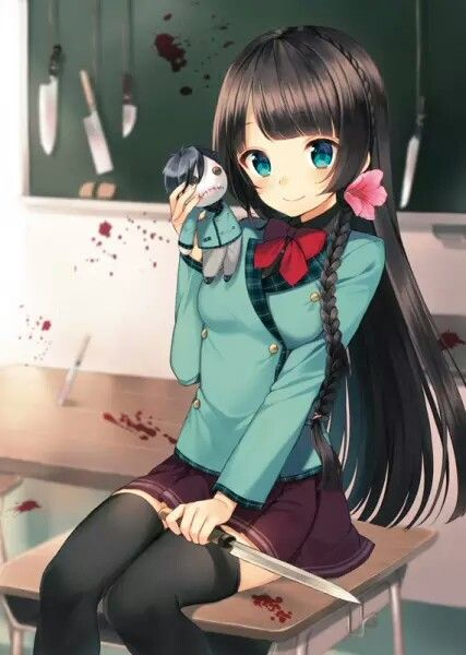 175 best anime girl with black hair images on pinterest