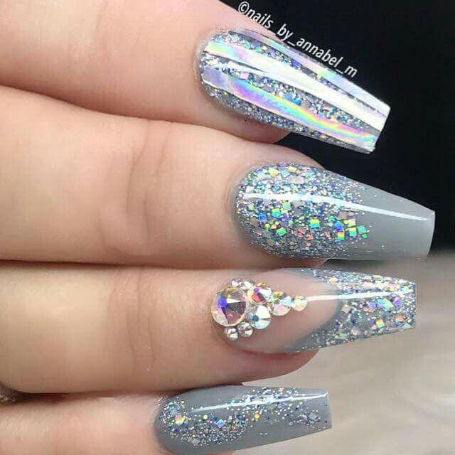 1152 nails - gems stones