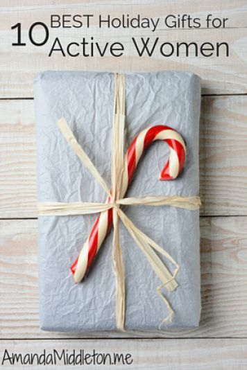 10 Best Holiday Gifts for Active Women! Start your shopping today! Winter Ideas #winter