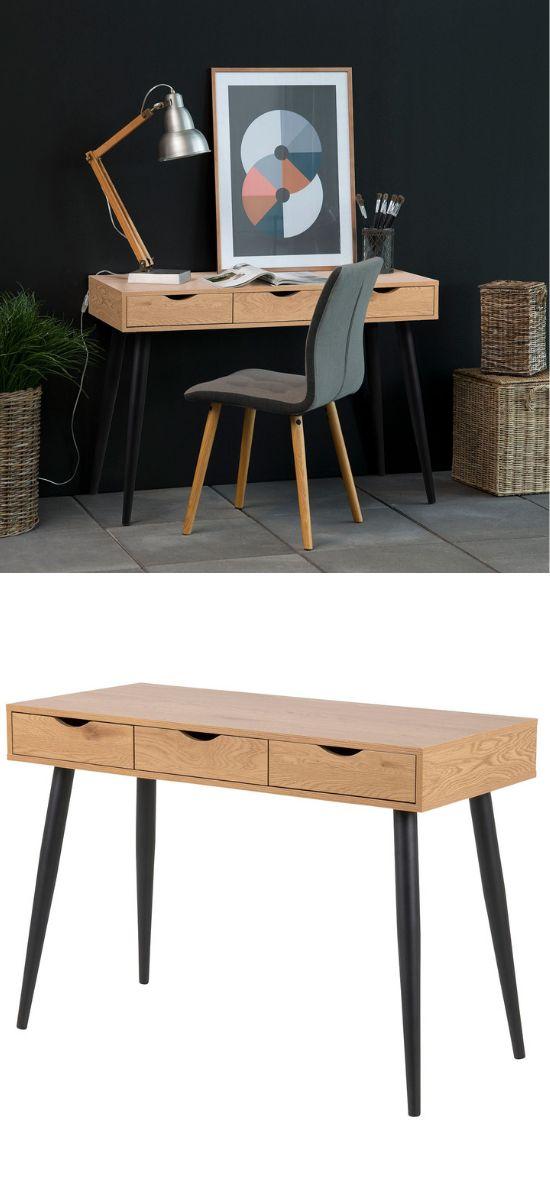 Schreibtisch aus Holz – Arbeitsplatz einrichten