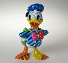 Romero Britto Disney Donald Duck Figurine